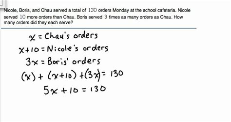 systems of equations with 3 variables word problems worksheet solve word problem with 3 unknowns module 3