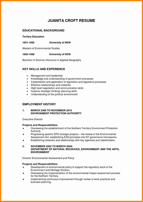 curriculum vitae educational background theorynpractice