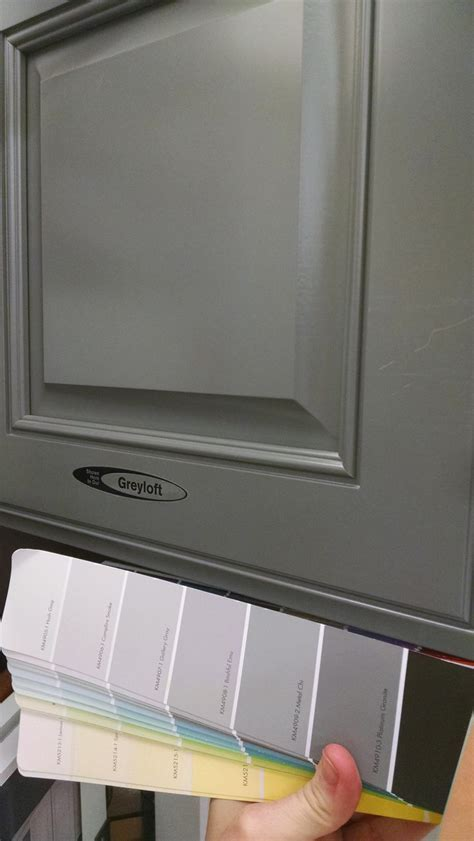 Kraftmaid greyloft cabinet panel. Don't like the style