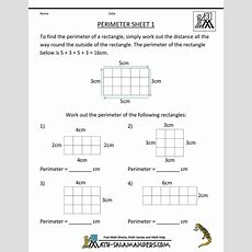 25+ Best Ideas About Perimeter Worksheets On Pinterest  Area Worksheets, Math Concepts And I