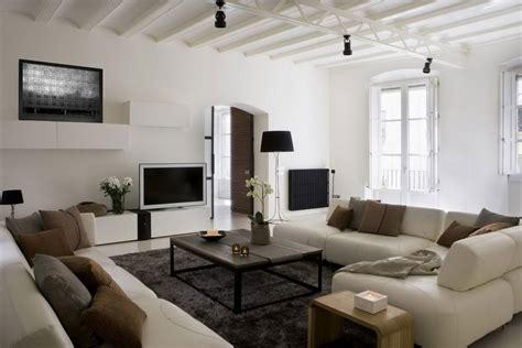 contemporary living room  characteristics  modern