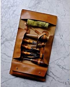 Trousse A Outils : trousse outils en cuir cuir tannage v g tal ~ Melissatoandfro.com Idées de Décoration