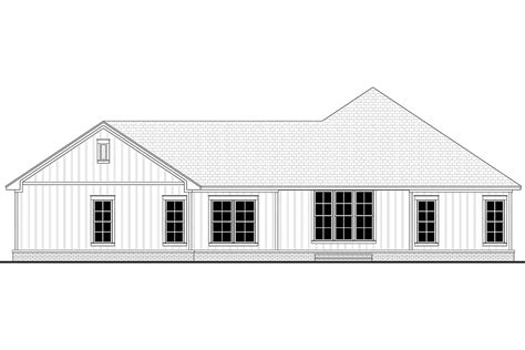 House Plan 80806 Ranch Style with 2339 Sq Ft 3 Bed 2