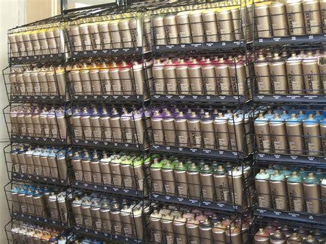 Montana Spray Paint In Our East London Shop Jackson's