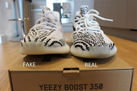 How to spot Fake Yeezy Boost 350 Zebras   Kingsdown Roots
