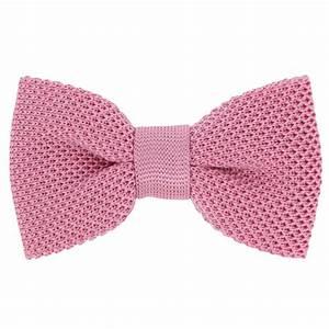 Noeud Papillon Rose Poudré : n ud papillon rose en tricot de soie monza la maison ~ Melissatoandfro.com Idées de Décoration