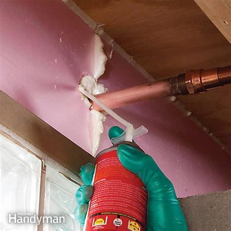 Insulate Basement Rim Joists   The Family Handyman
