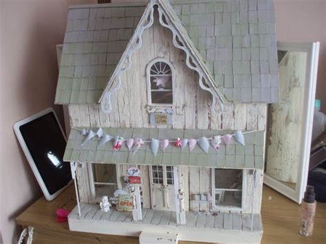 shabby chic dollhouse shabby chic dollhouse google search dollhouse pinterest shabby dollhouses and doll houses