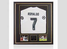 Premium Framed Cristiano Ronaldo Signed Real Madrid 2015