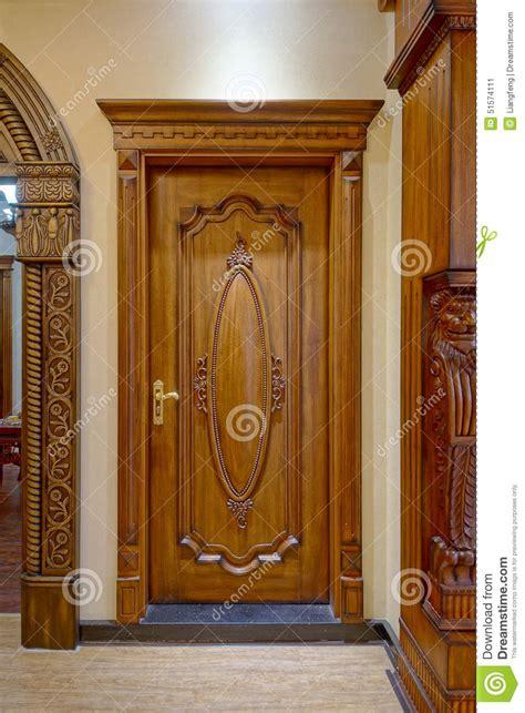 Wooden Door Stock Image Image Of Open, Object, Exit
