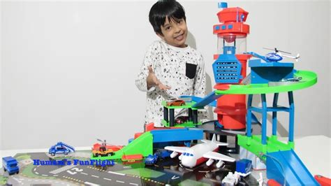 Fast Parking Garage by Fast Multi Level Airport Playset By Humam S