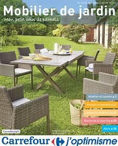 Table De Jardin Promo : salon de jardin carrefour meuble jardin bois maison email ~ Teatrodelosmanantiales.com Idées de Décoration