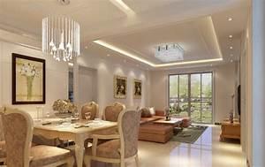 Living room beautiful ceiling lighting