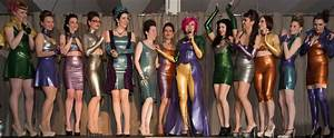 The Baroness' Latex Fashion Show at Miss Rubber World 2013 ...