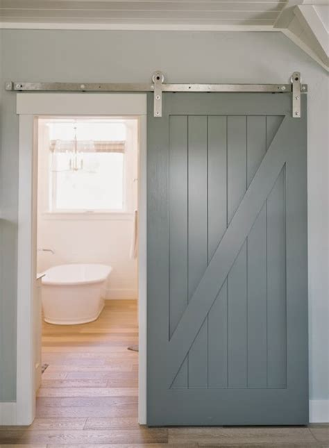 bathroom door designs bathroom with barn door transitional bathroom 4