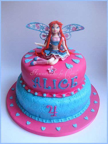 winxclub birthday cakes Torta Blomm Winx Believix