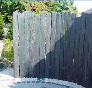 Barre De Schiste : ardoise deco jardin objet de decoration de jardin reference maison ~ Melissatoandfro.com Idées de Décoration