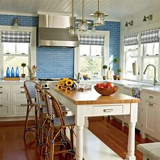 Country Kitchen Decor  Colorful, Cozy Spaces  Coastal Living