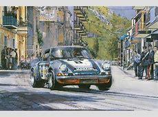 Automobile Art Watts, Nicholas The Final Targa