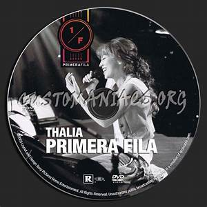 Thalia Primera Fila dvd label - DVD Covers & Labels by ...