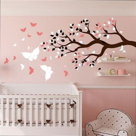 sticker chambre bebe fille attirant stickers chambre bebe fille 11 stickers center