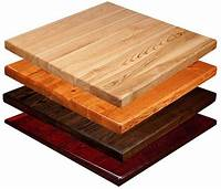 table tops wood Solid Wood Table Tops - Bar & Restaurant Furniture, Tables ...