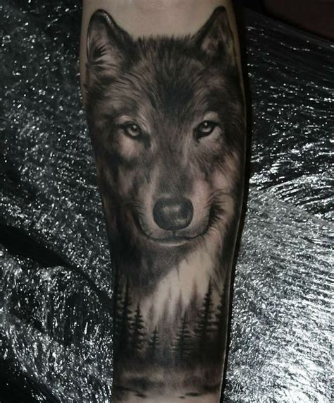 1001 mod 232 les de tatouage loup pour femmes et hommes