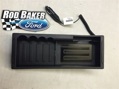 oem genuine ford console wireless cell phone