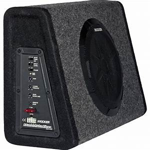 Kicker PT10 BassStation Car Audio Sub Amp Powered 10 ...