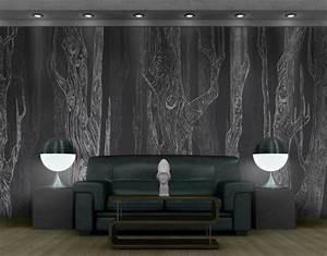 7 besten holz tapete natur pur bilder auf pinterest With balkon teppich mit tapete wald grau