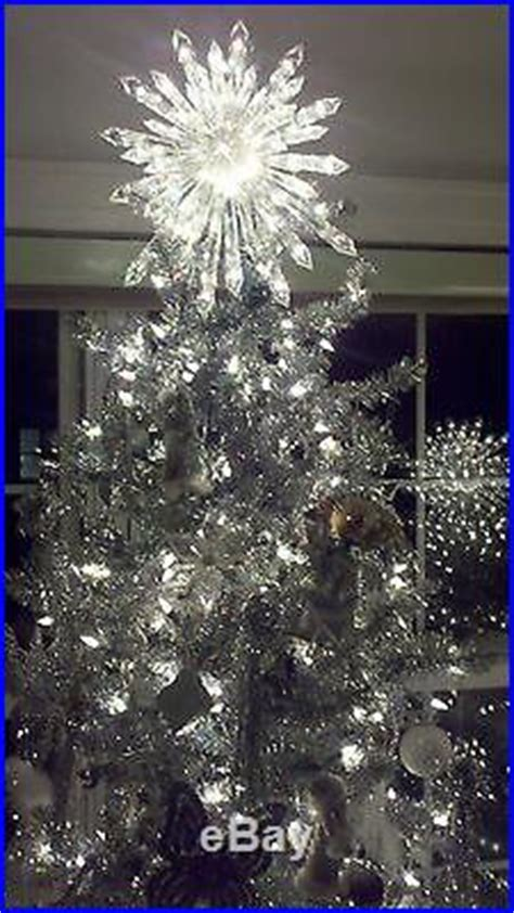 nativity christmas giant prelit crystal tree topper