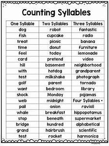 FREE! Plus lots of ways to teach syllables! Reading