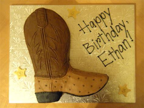buttercream cowboy boot cake main  custom cakes