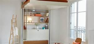 Lit Au Plafond Electrique : prix lit escamotable plafond elegant lit relevable ~ Premium-room.com Idées de Décoration