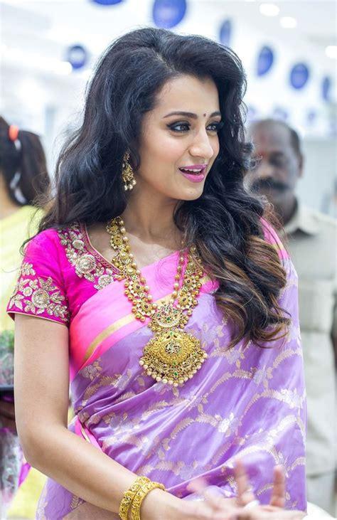 beautiful hairstyles  silk saree indian beauty