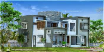 modern home plans modern house design in 2850 square home kerala plans