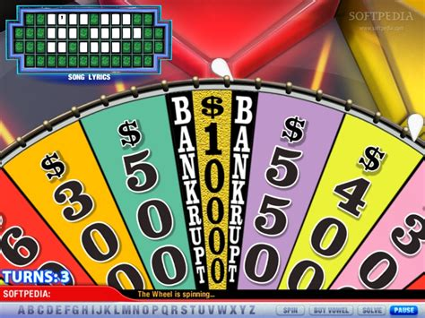 fortune wheel games softpedia spin puzzle america solve tv
