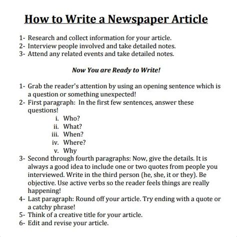 news article outline examples  examples