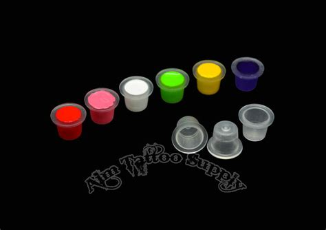 clear tattoo ink cups   professional package