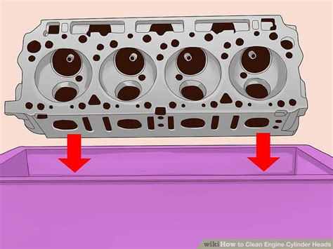 3 Ways To Clean Engine Cylinder Heads