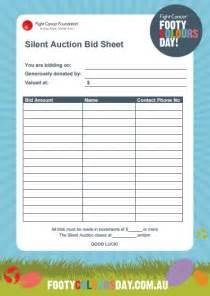 Auction Sheets Template 14 Silent Auction Forms Templates Templates Assistant