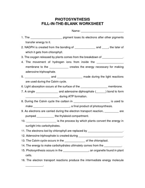 16 best images of fill in blank worksheets fill in the