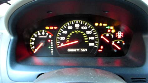 honda accord dash lights 2004 honda accord v6 won t start youtube