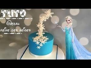 Gateau Anniversaire Reine Des Neiges : comment faire un gateau reine des neiges how to make a ~ Melissatoandfro.com Idées de Décoration