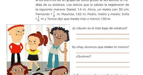 Catálogo de libros de educación básica. Paco El Chato 6 Grado Matematicas Pagina 72 : Respuestas Del Libro Pagina 73 De Matematicas 6 ...