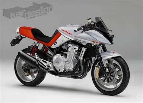 Suzuki Katana racing caf 232 design corner suzuki katana by kardesign