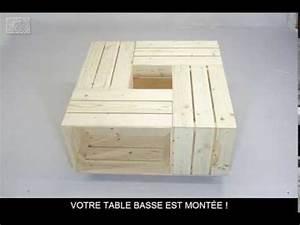 Table Basse Caisse Bois : les 25 meilleures id es de la cat gorie tables basses de caisse sur pinterest tables basses d ~ Nature-et-papiers.com Idées de Décoration