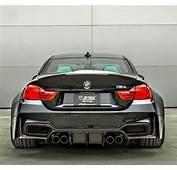 BMW F82 M4 Black Widebody  Automotive Bmw Cars