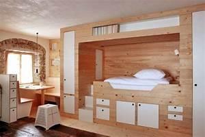 Chambre Gain De Place : top un meuble sur mesure pour des rangements optimiss ides gain de with rangement jouet chambre ~ Farleysfitness.com Idées de Décoration