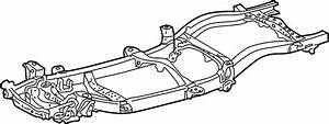 Toyota Tacoma Frame Rail  4wd  2 7 Liter  Extended Cab  Manual Trans